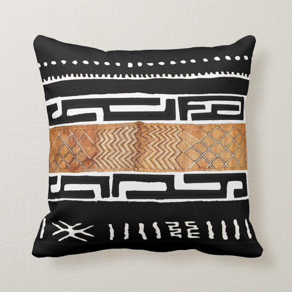 The Essence Of Africa Throw Pillow Zazzle Com In 2020 African Decor Living Room Afrocentric Decor African Home Decor