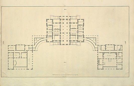 Houghton Hall Norfolk Ground Floor Basement Plan Houghton Hall How To Plan Basement Plans