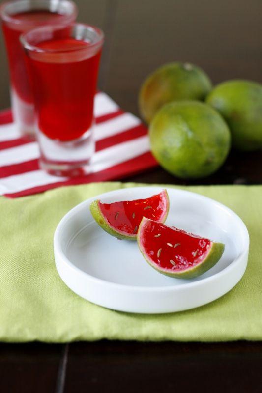Watermelon Jello Shooters