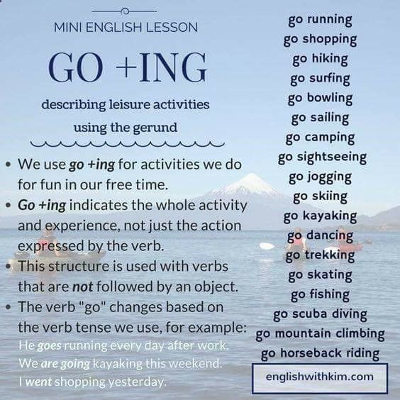 go-ing-describing-leisure-activities-using-the-gerund ...