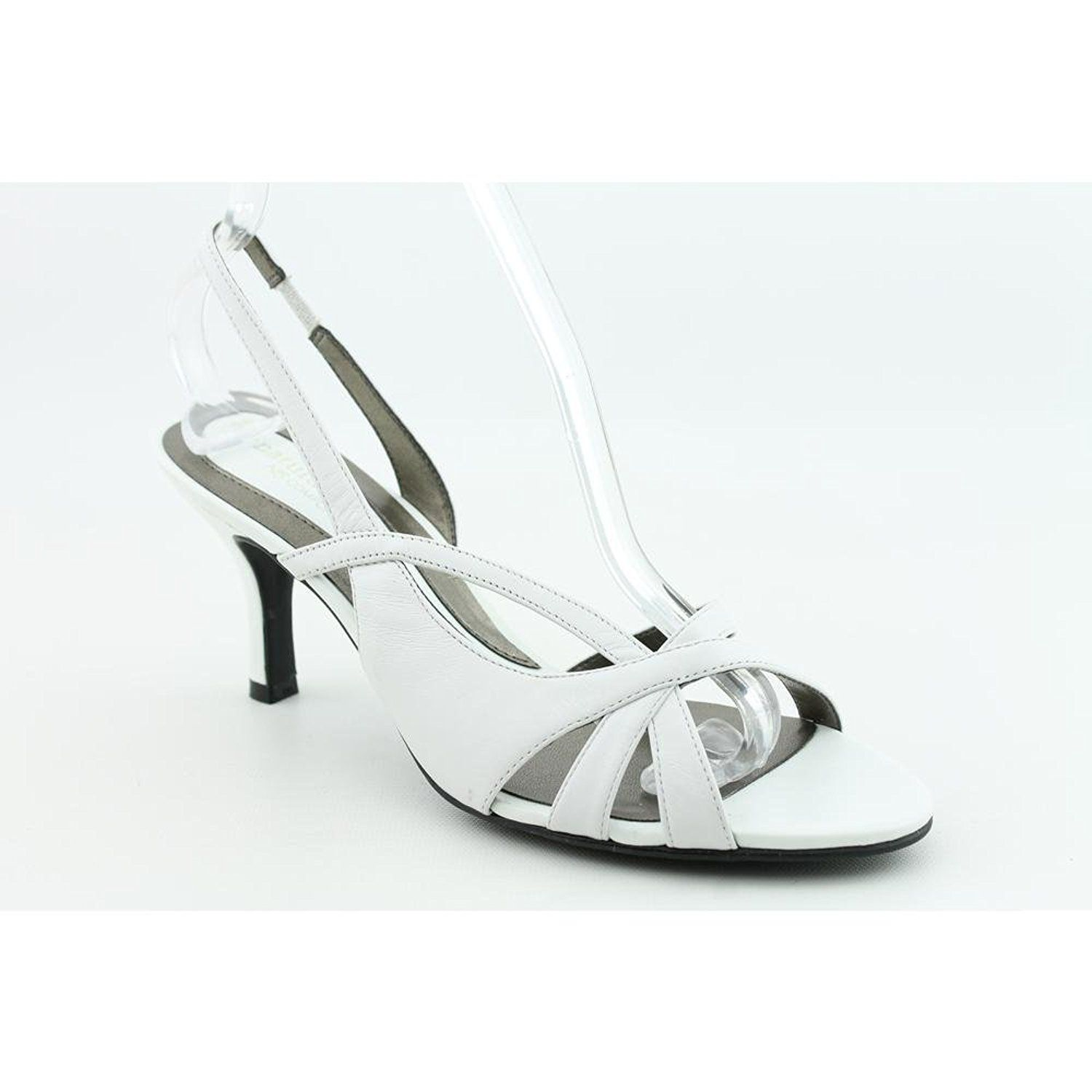 Womens Shoes Naturalizer Prissy White Leather