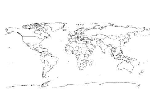 Malvorlage Weltkarte Riesige Weltkarte Weltkarte Und