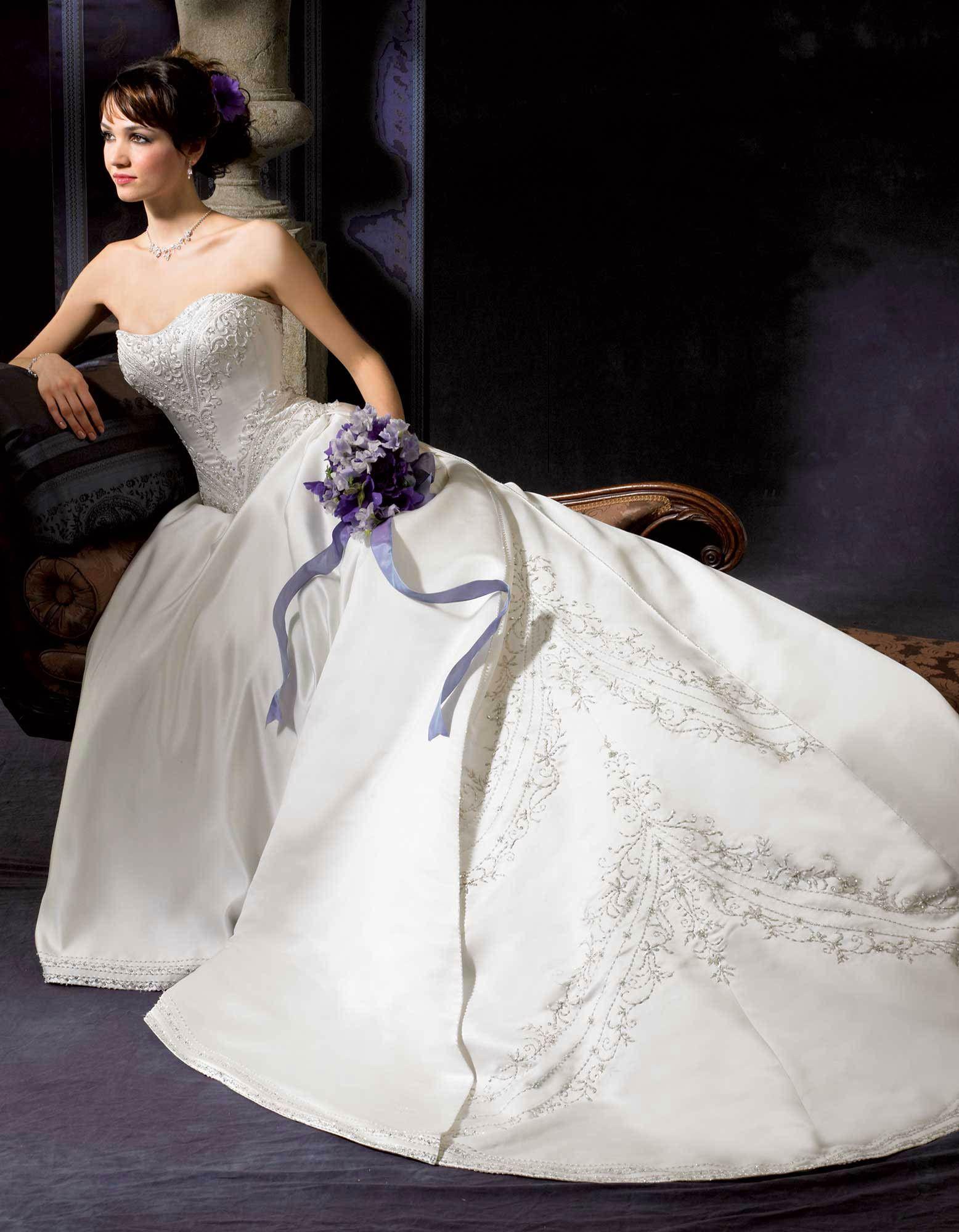 Winston ALine/Princess wedding gown Style PL1226