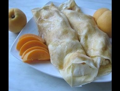 Palačinky s meruňkami