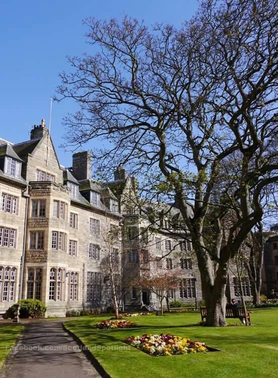 Student halls of residence in St. Andrews, Scotland