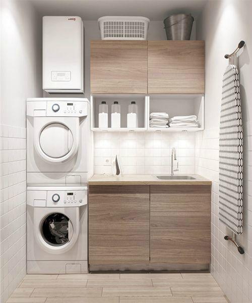 petite buanderie les meilleures id es pour am nager d corer une petite buanderie id es. Black Bedroom Furniture Sets. Home Design Ideas