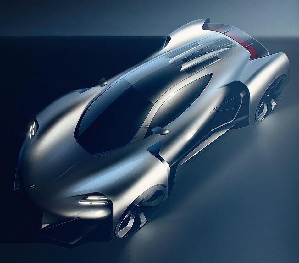 Porsche Mission Extreme by Oscar Johansson @ossondesign