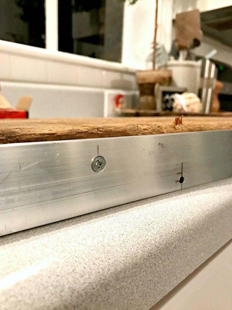 DIY Kitchen Open Shelving for Under $50 | Open shelving ...
