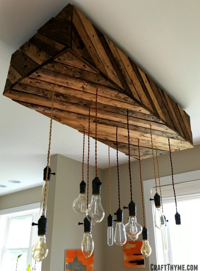 How To Make An Edison Bulb Chandelier Dining Room Lighting