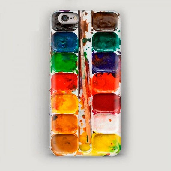 Paints Iphone 7 Case Art Iphone 7 Plus Case Watercolor Phone