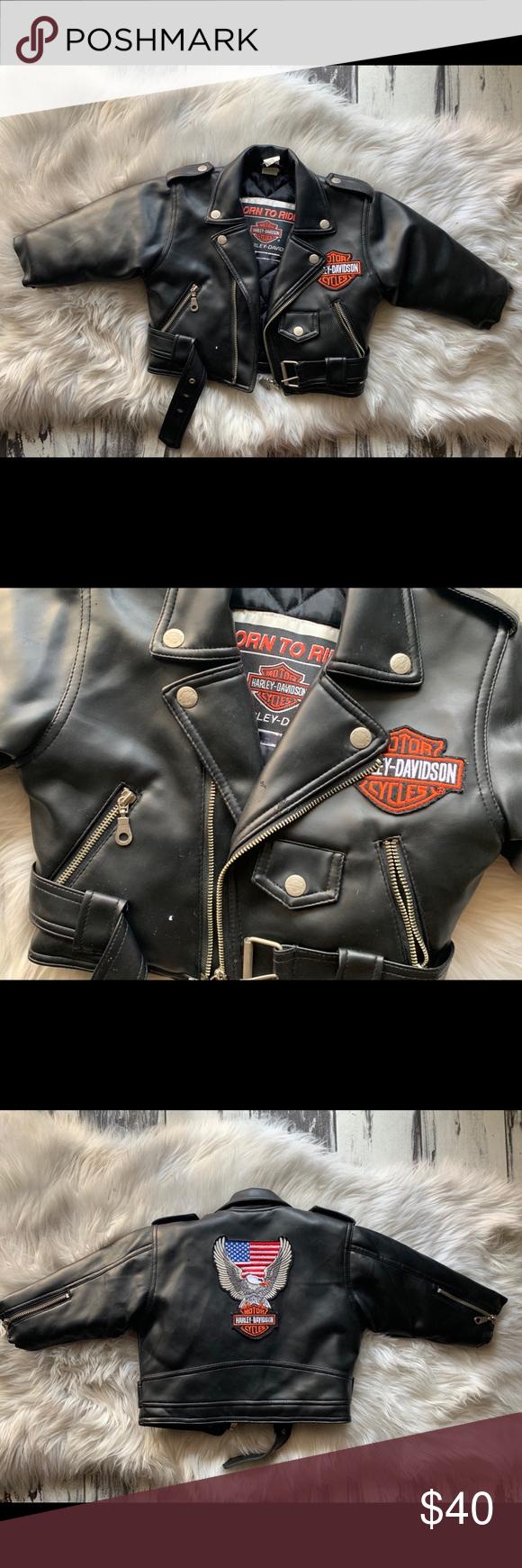 Toddler Harley Davidson Leather Jacket Harley Davidson Leather Jackets Leather Jacket Leather [ 1740 x 580 Pixel ]
