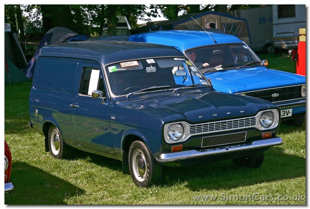 1968 Ford Escort Mk I 1300 Panel Van 8cwt | European panel vans ...