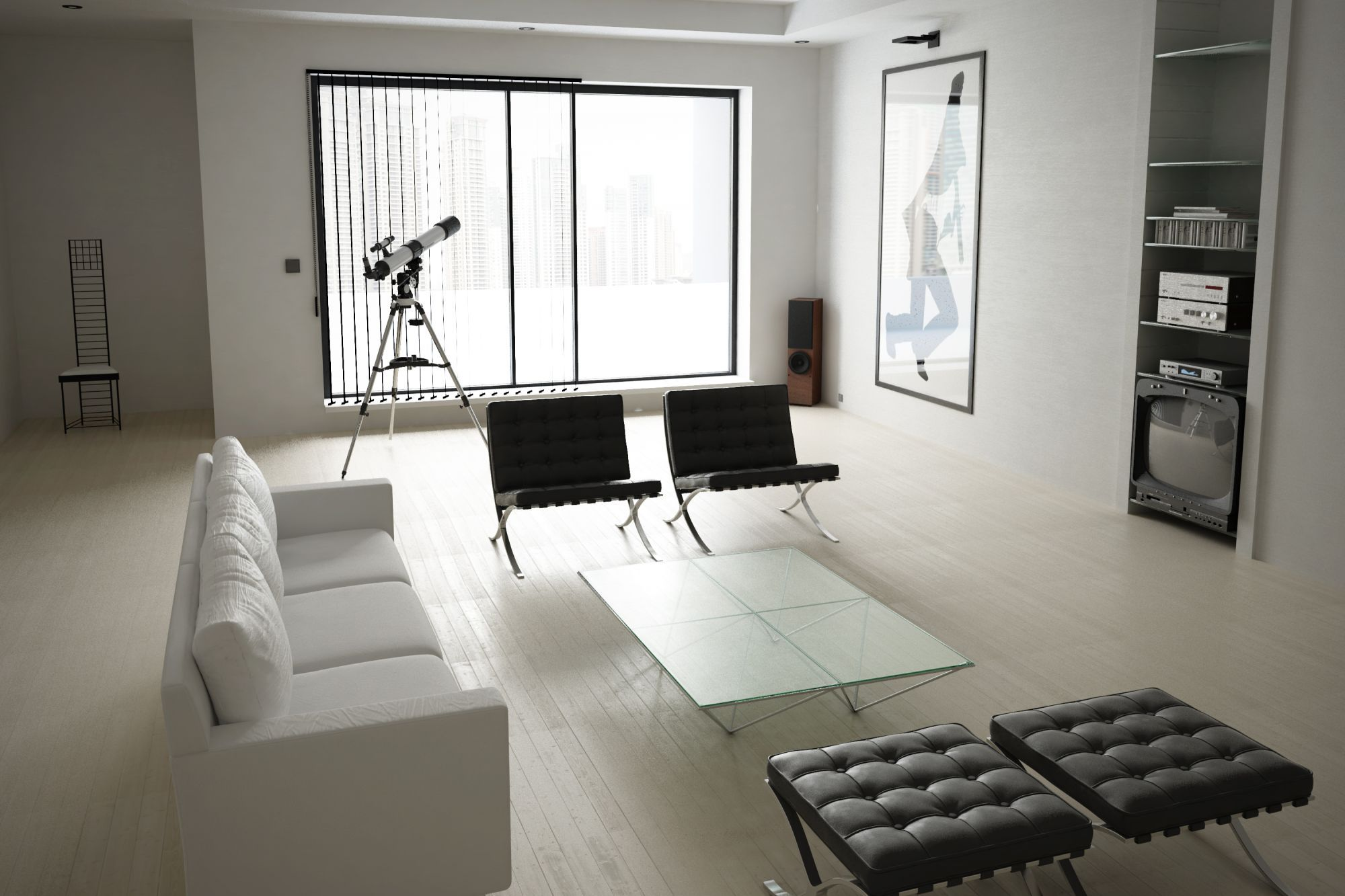 Living Room From American Psycho Movie