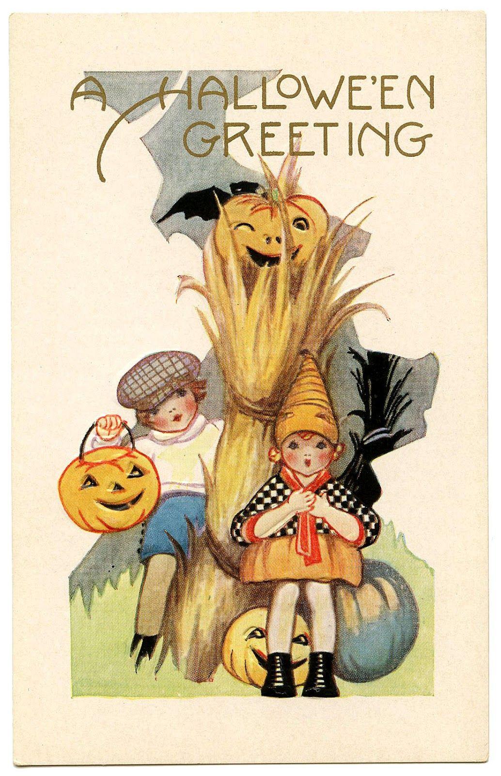 Vintage Halloween Graphic