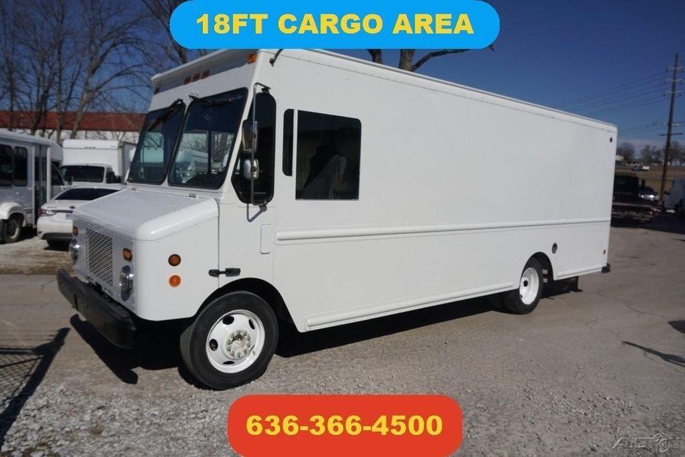 2006 Workhorse 18 Ft Cargo Step Van Food Truck Delivery 48 V8 Gas