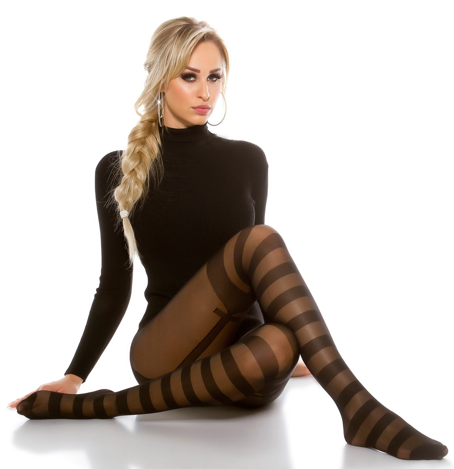 Shopping pantyhose nylon stockings — pic 3