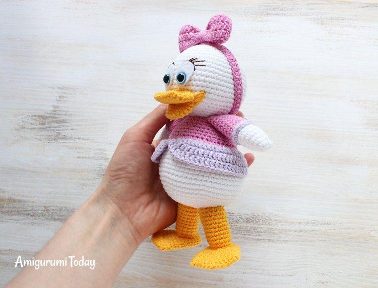 Webby Duck amigurumi pattern   Pinterest   Handarbeiten