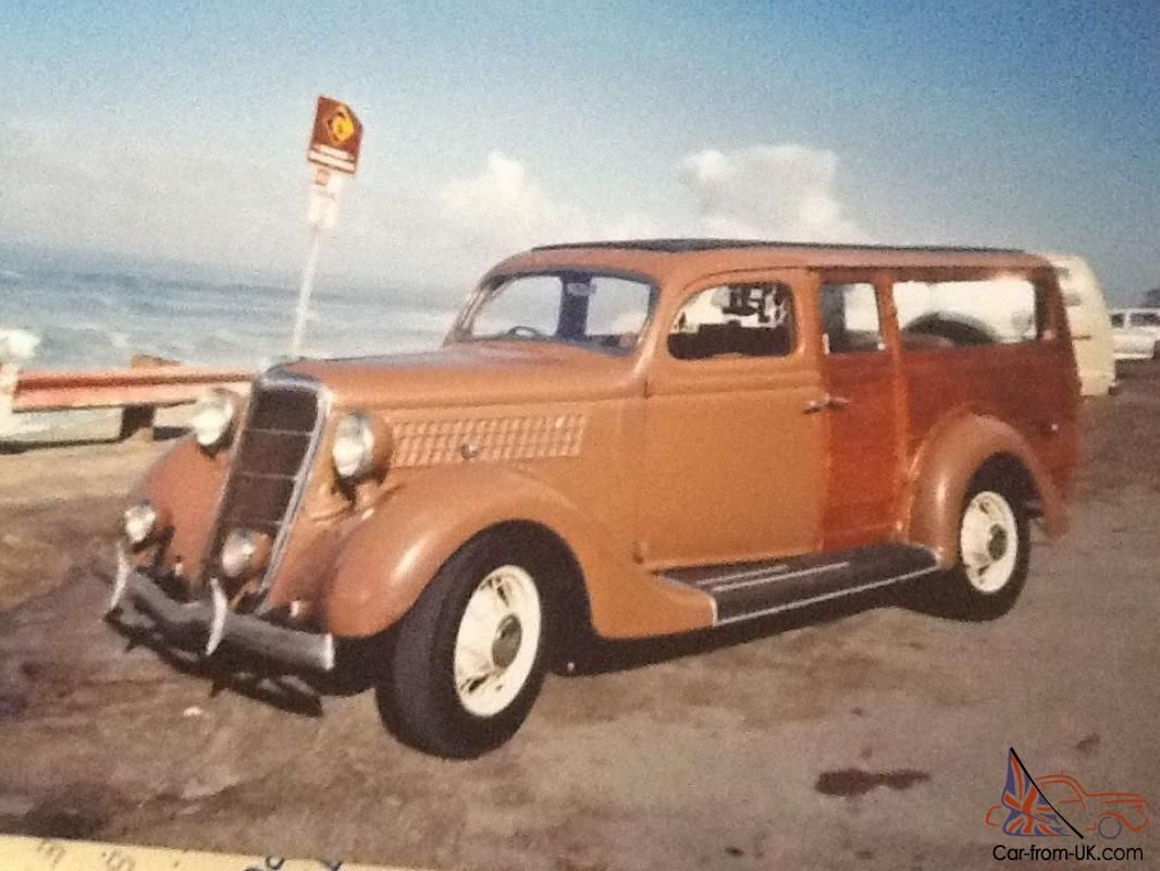 1935 Ford Woodie,built in England,shipped to California,now in ...