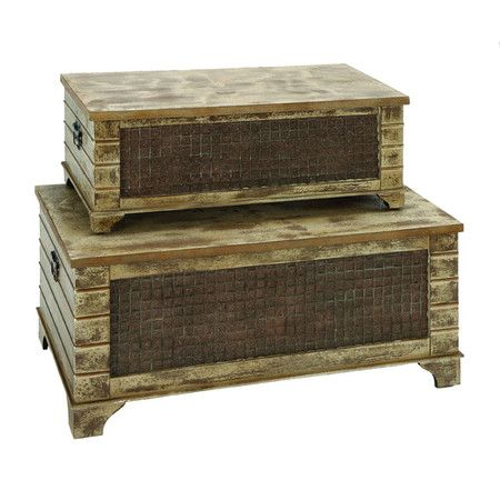 I Pinned This 2 Piece Buckley Trunk Set From The Woodland Imports Event At  Joss And