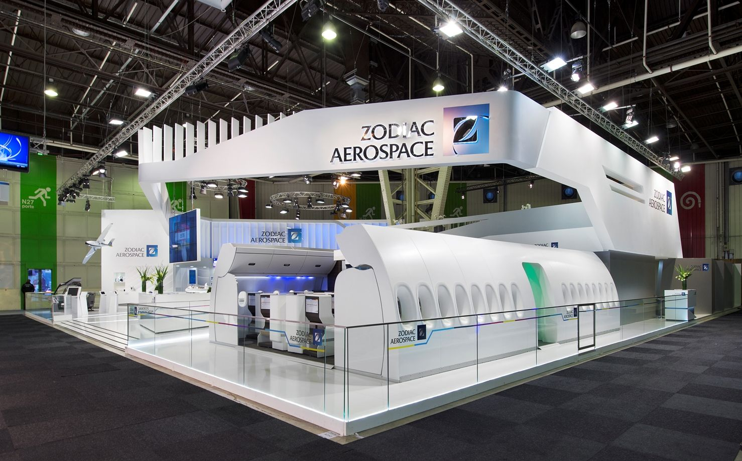 Pin by jn on exhibition exhibition booth pavilion design - Salon du bourget 2015 tarif ...