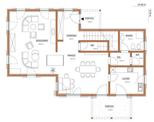 Wolf haus case prefabbricate aika 208 progetti case for Progetti di case moderne a un solo piano