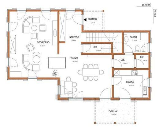 Wolf haus case prefabbricate aika 208 progetti case for Moderni disegni di case a due piani