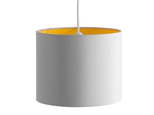 May Lampenschirm (26 cm), Senfgelb und Grau Lampen, Schirm