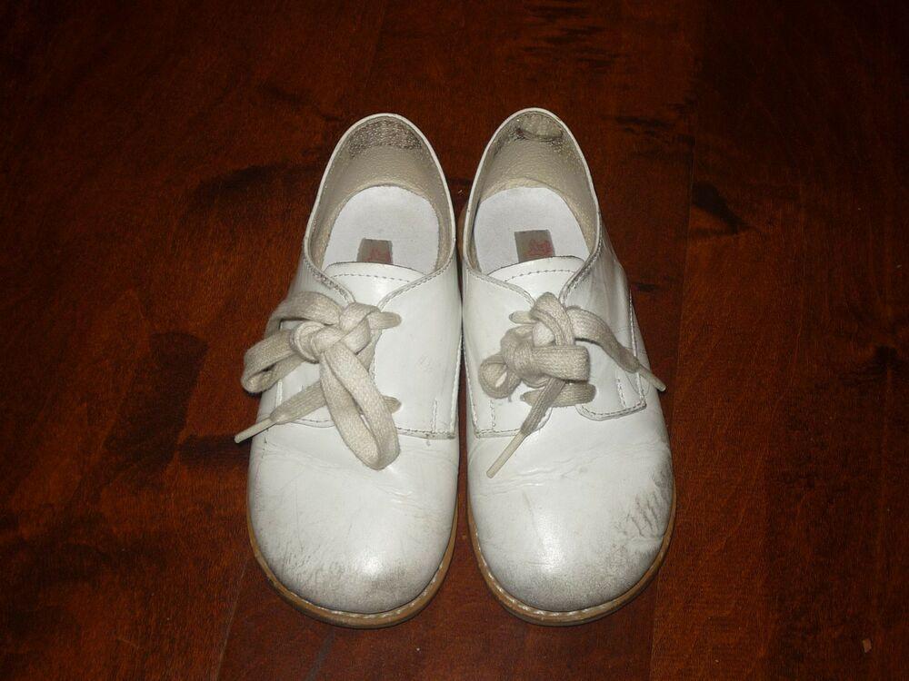 bcb063acaef0 Boys girls Kylinn size 11 white genuine leather flat lace dress shoes   fashion  clothing  shoes  accessories  kidsclothingshoesaccs  unisexshoes ( ebay link)