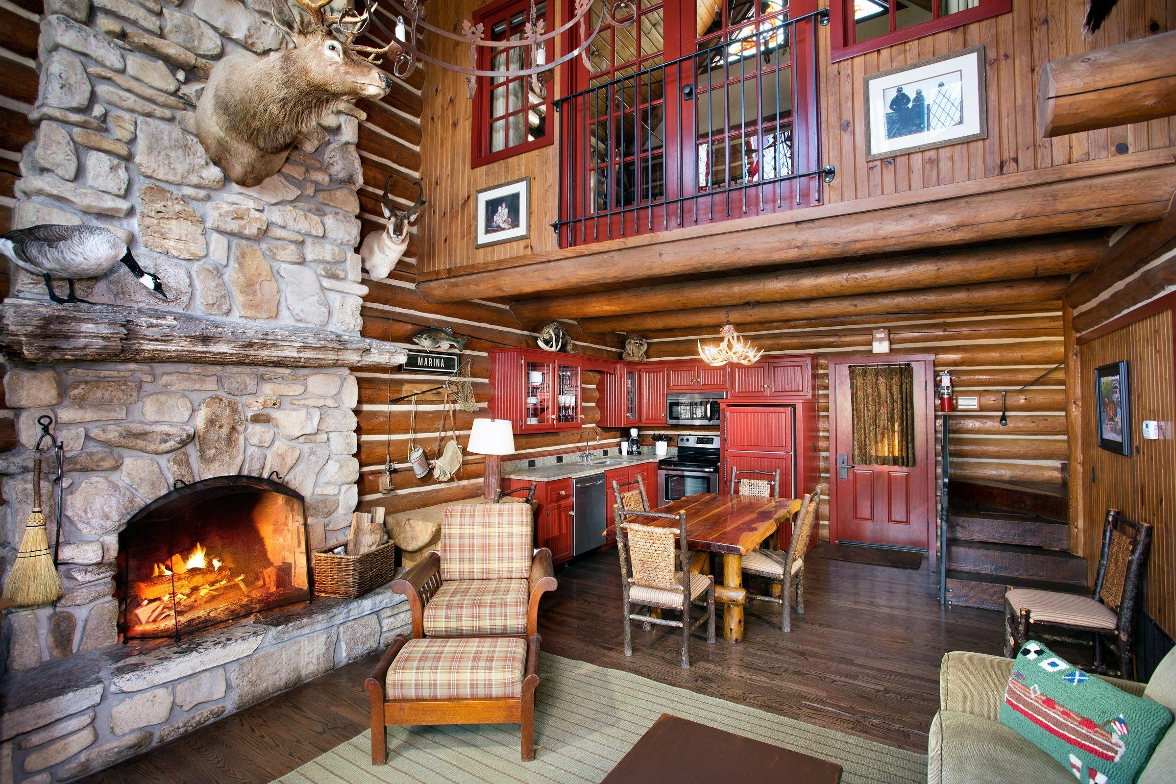 Private Two Bedroom Cabin With Loft Branson Missouri Resorts Big Cedar Branson Missouri Vacation Lodgi Big Cedar Lodge Branson One Room Cabins Cabin Loft