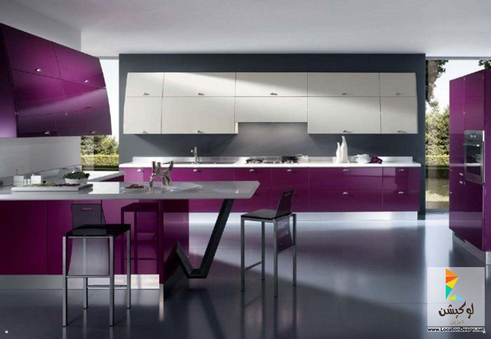 Ideen für die küche in farbe مطابخ خشمونيوم مودرن   ديكورات مطابخ  pinterest  küchen