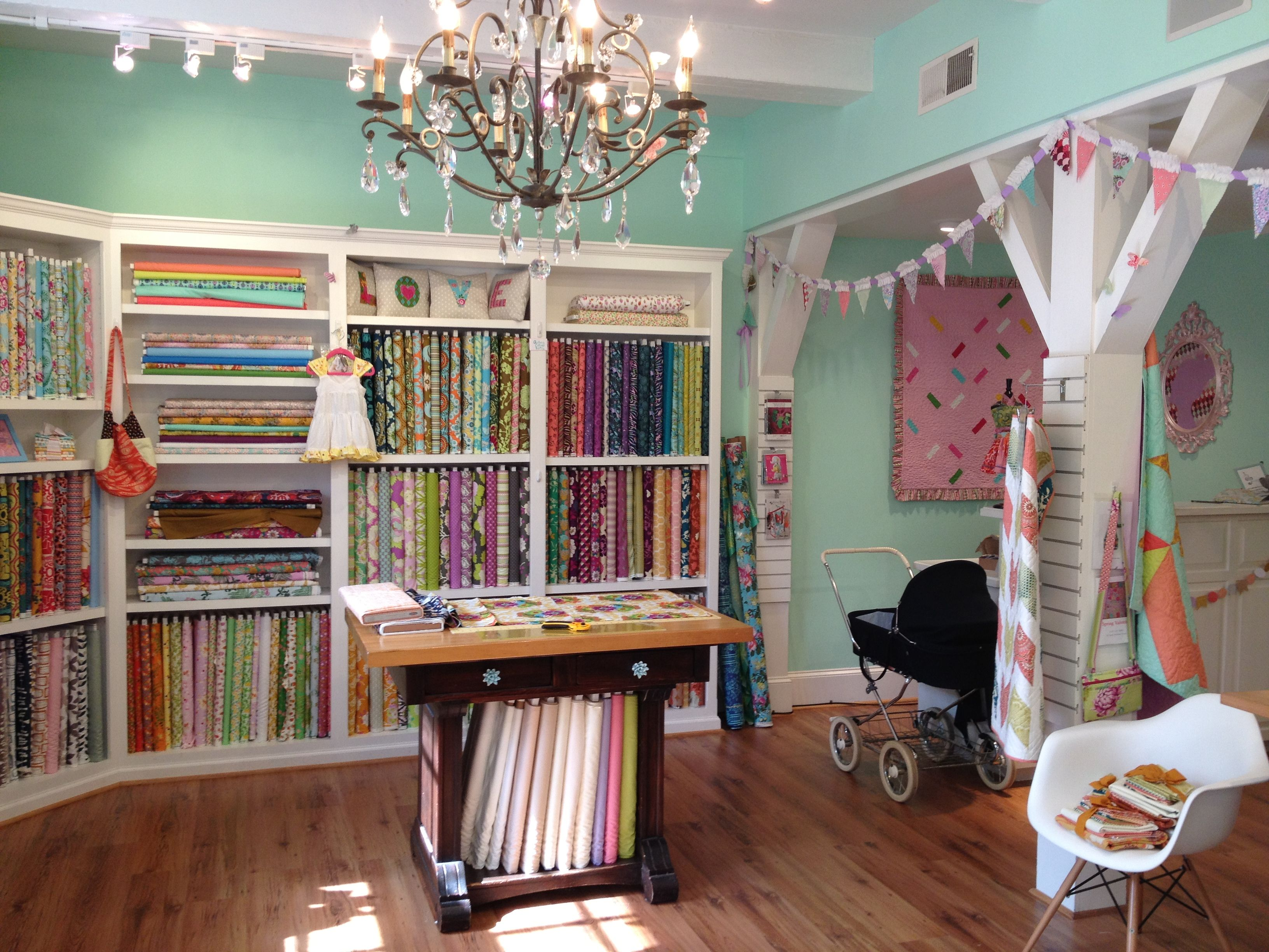 The Little General in Winston Salem, North Carolina. Might be my ... : quilt shops in north carolina - Adamdwight.com