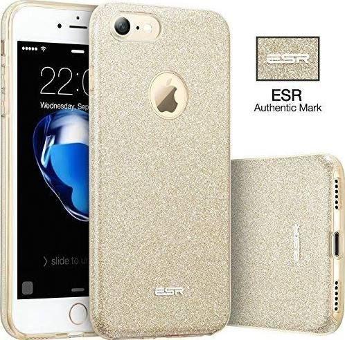 check out 9b910 36d6a esr gold glitter iphone 7 case | Fancy, Fabulous & Fantastic ...