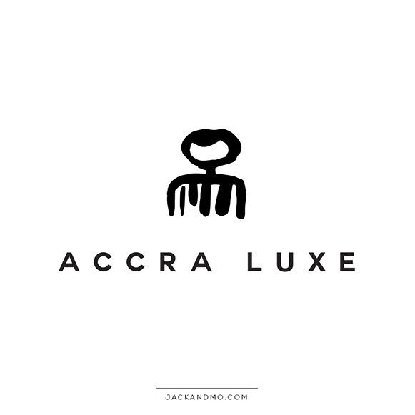 Black And White Logo Design With An African Symbol Is Gorgeous