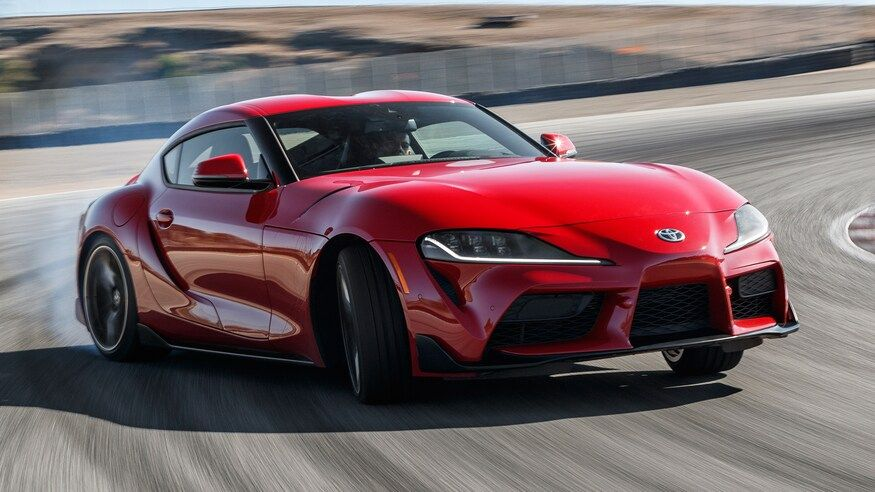 Eight Supercars Slower Than A 2020 Toyota Supra Motor Trend Super Cars Toyota Supra New Supercars