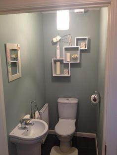 tiny half bathrooms - Google Search | decorating | Pinterest ...