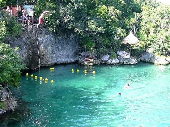 Xel Ha Cliff Of Courage I Jumped Betinatours Www