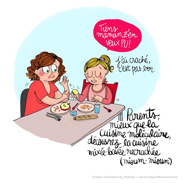 Au Menu Humour Maman Dessin Humoristique Illustration Francaise