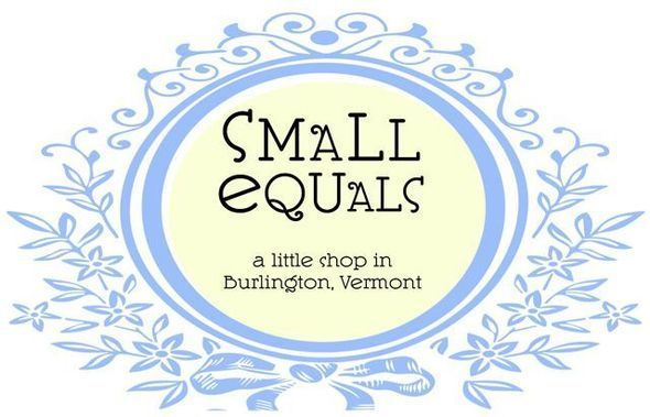 small equals logo blue and yellow. 2010.
