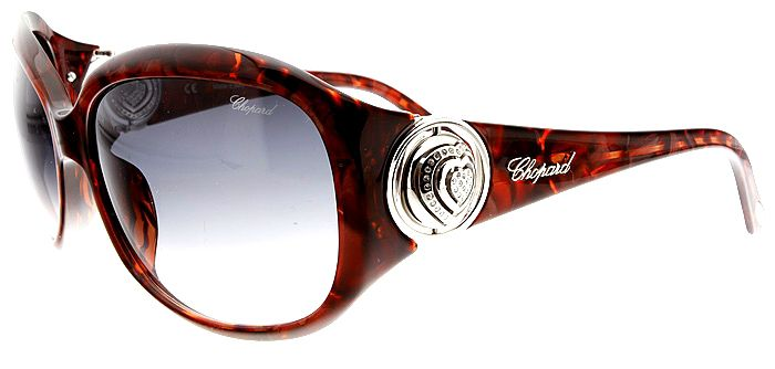 64fa6a8861 Chopard Womens Sunglasses SCH075S 09ZB These are great looking Chopard  Ladies Sunglasses with rotating hearts on the temple. These hearts have  rhinestones ...