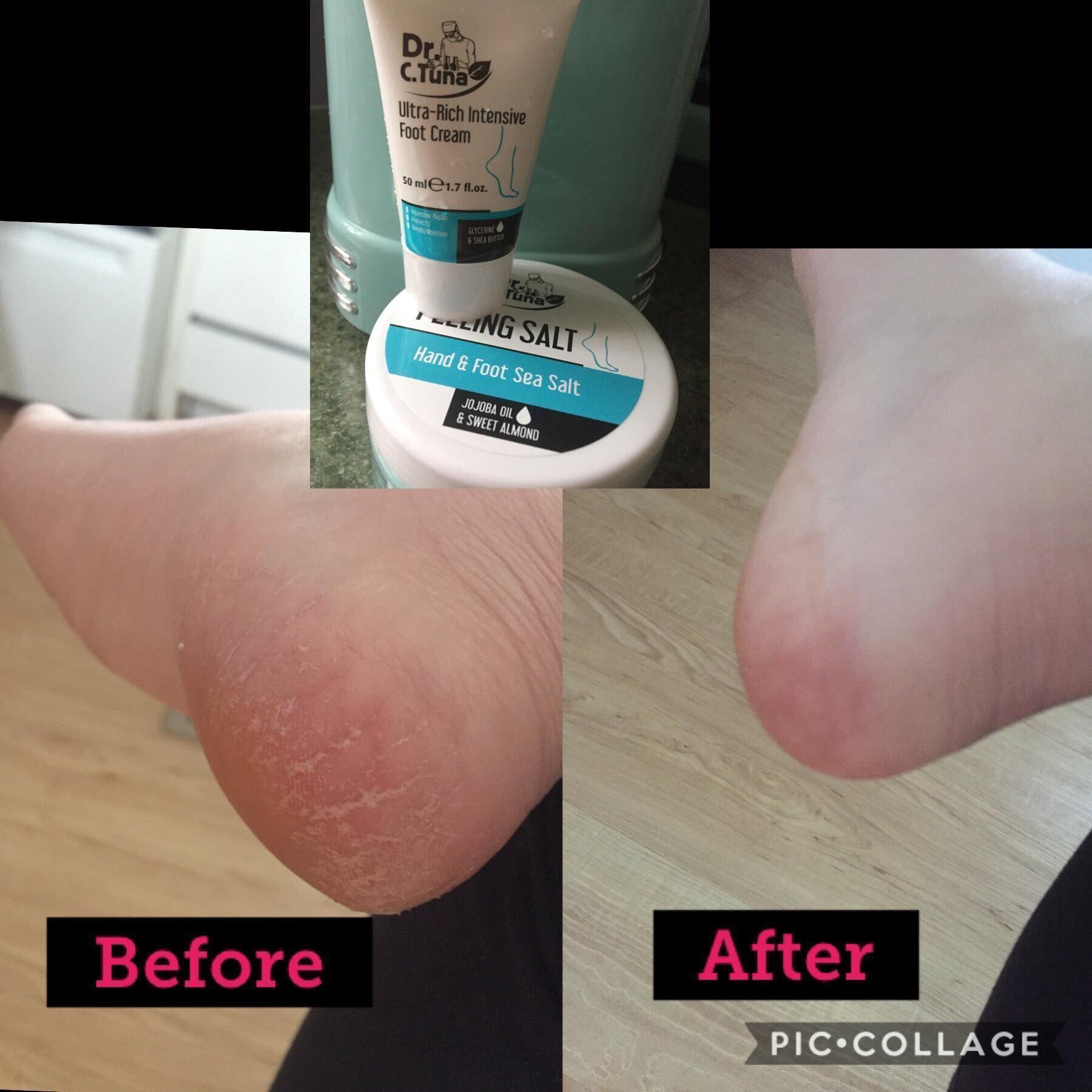 Farmasi Peeling Sea Salt For #Feet and