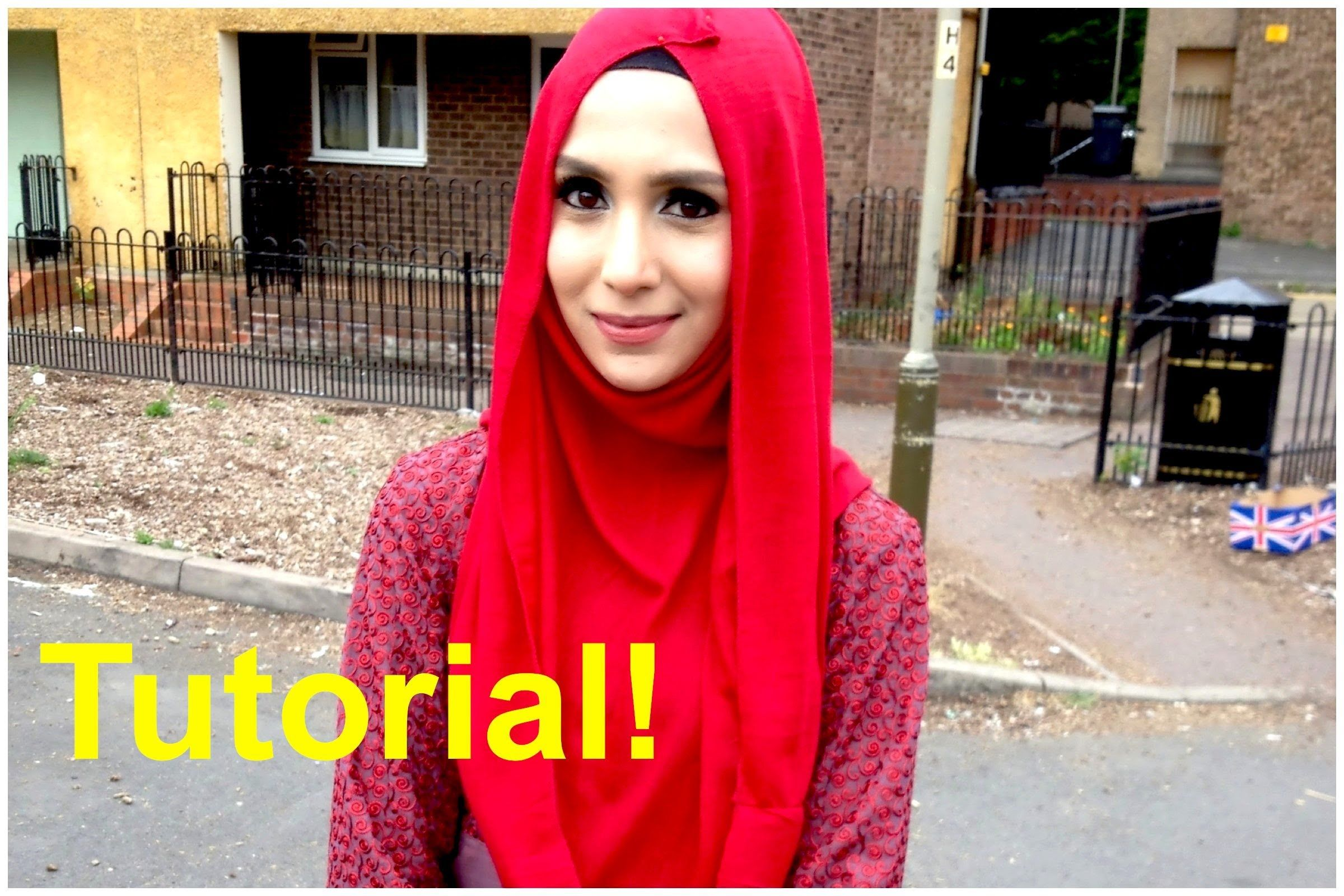 Fashion style How to infinity wear scarf hijab for lady