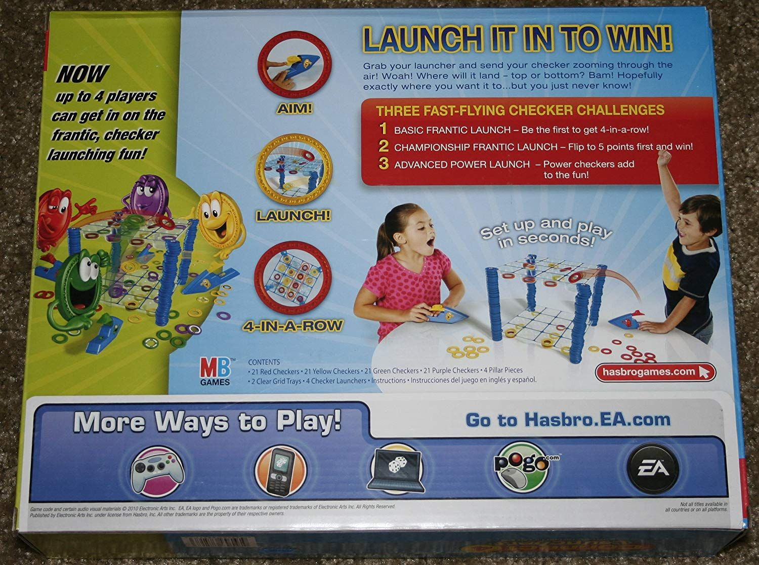 Connect 4 Launchers Exclusive Deluxe Pack (4 simultaneous