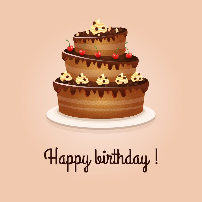 Happy Birthday Cake Whatsapp dp Images Photos Pictures Pics HD - birthday cake card template
