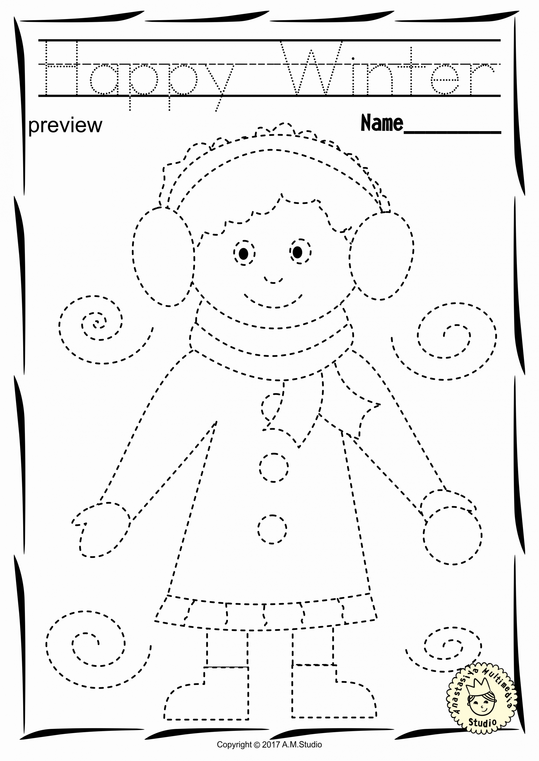 Winter Coloring Pages In With Images