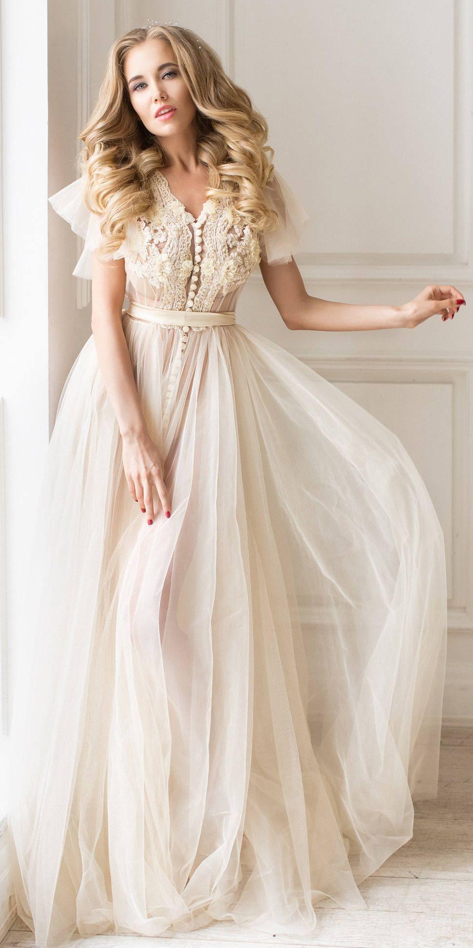Boudoir dress, bridal robe, wedding robe lace,womens robe, getting ...