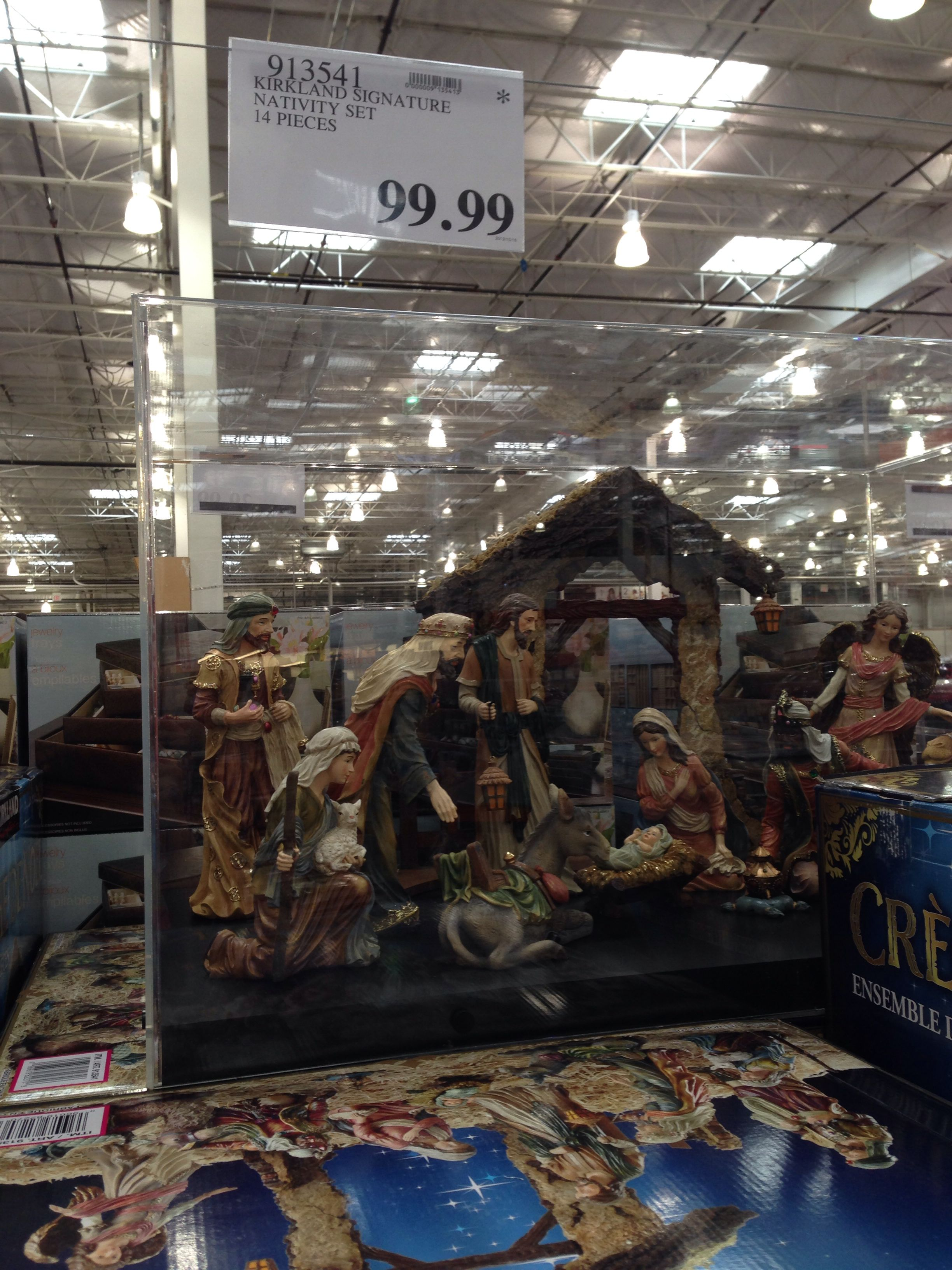 Astonishing I Have Always Wanted A Nativity Set Currently At Costco Download Free Architecture Designs Jebrpmadebymaigaardcom