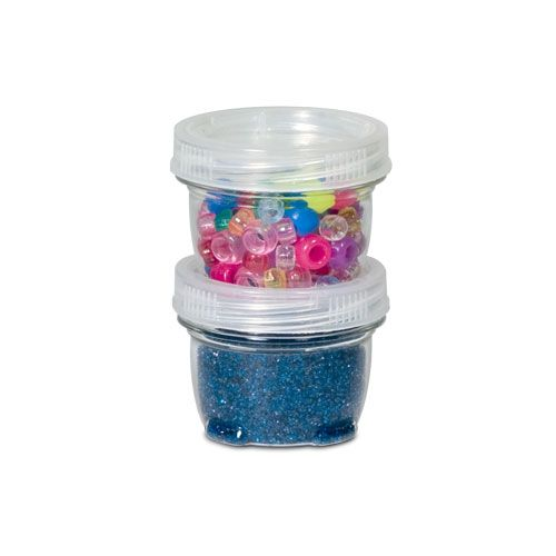 Charmant X Small Lock Up Containers. Perfect For Beads And Small Craft Items.