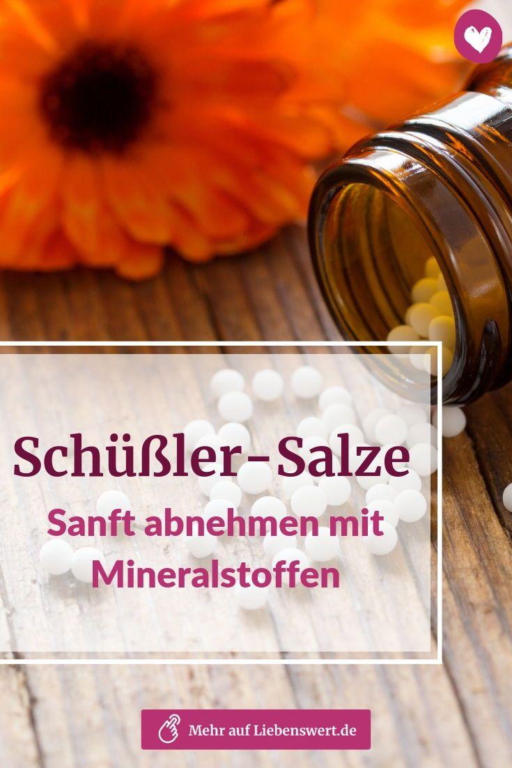 Schüßler-Salze: Sanft abnehmen mit Mineralstoffen..