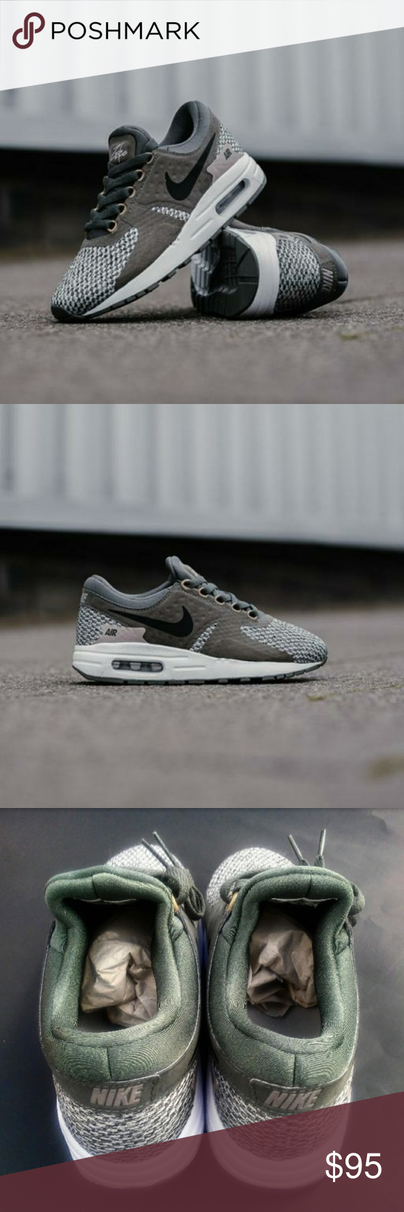4db4cfba69 Womens/Girls Nike Air Max Zero (Size 6.5y/8w) •Brand new in box •100 ...