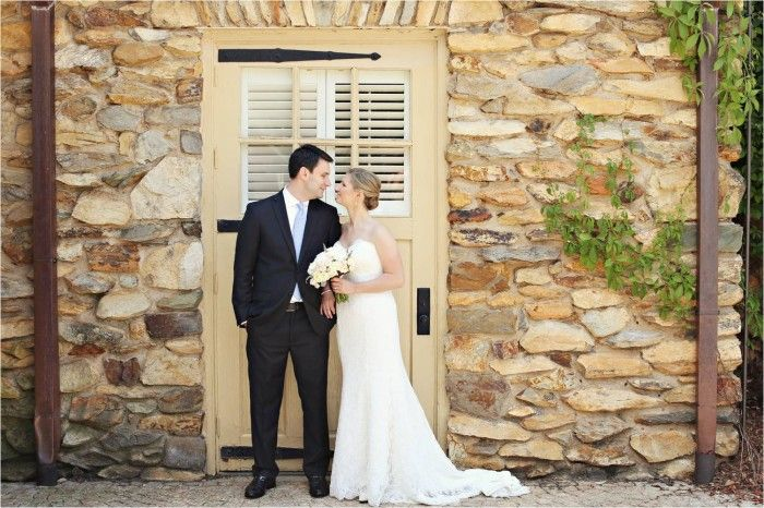 bride and groom portrait whitebox photography Graylyn Estate